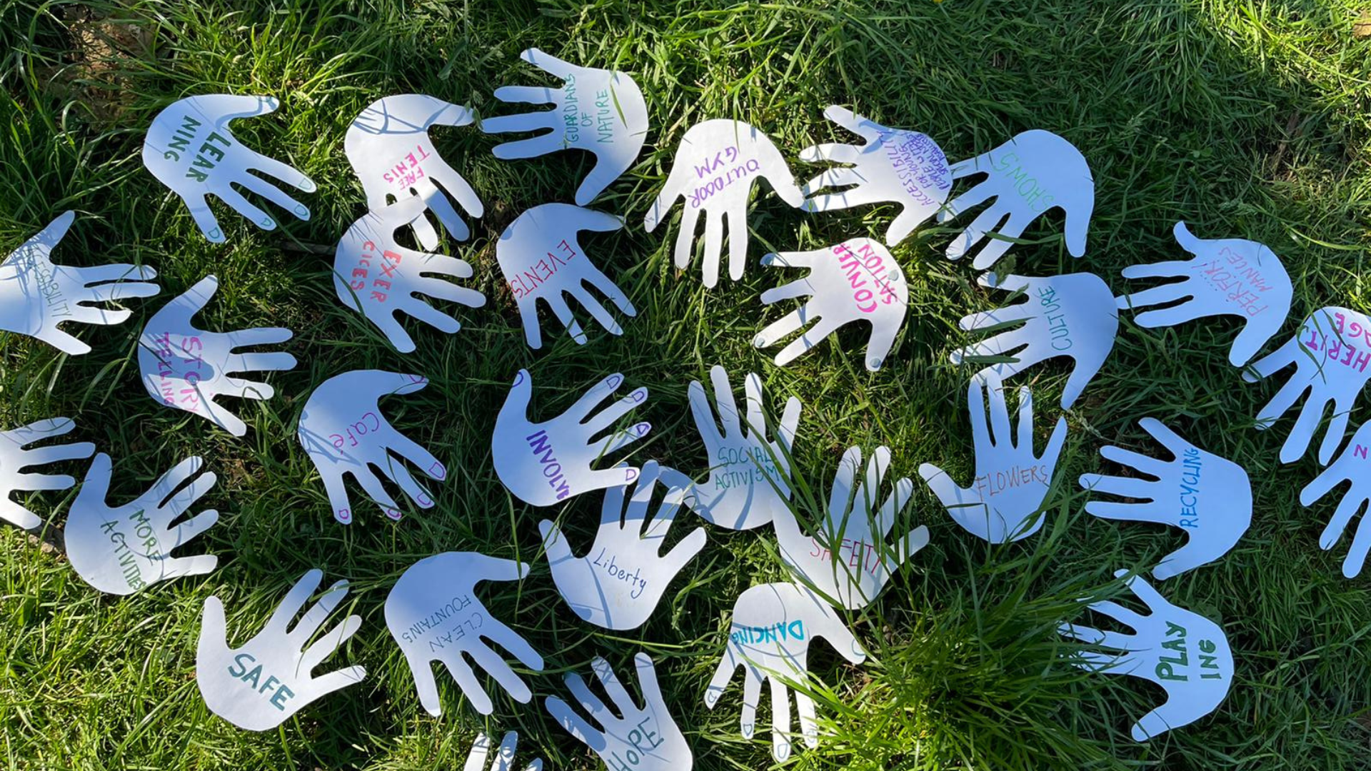 Refugee Week - Hands