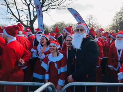 Support - Volunteer - Santa fundraising run for Shpresa